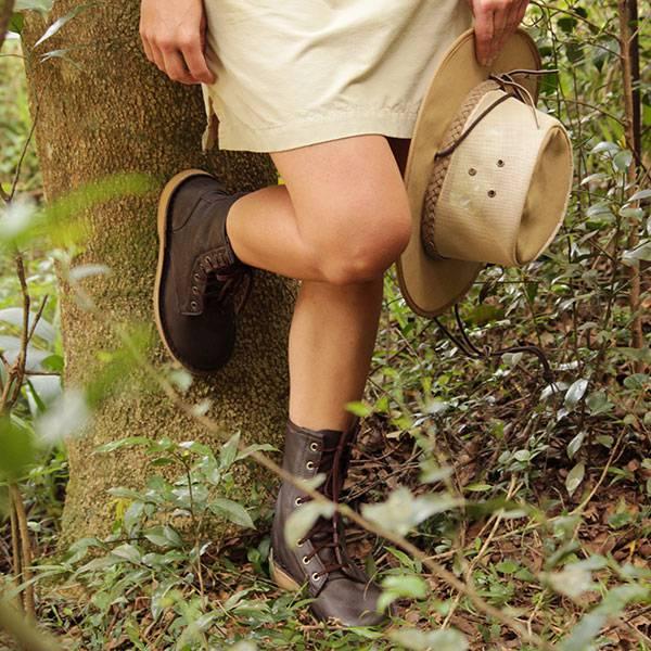 WILD ABOUT STYLE <br>Rufiji&trade; APU Combat Safari Boots<br>