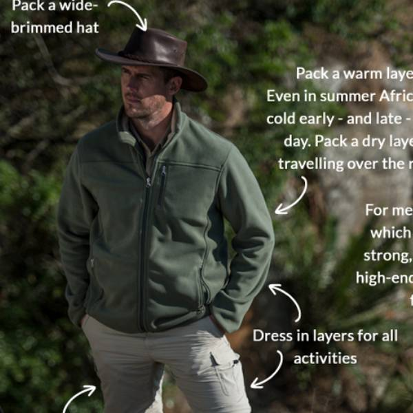 What to Wear on Safari Cheat Sheet by The Safari Store