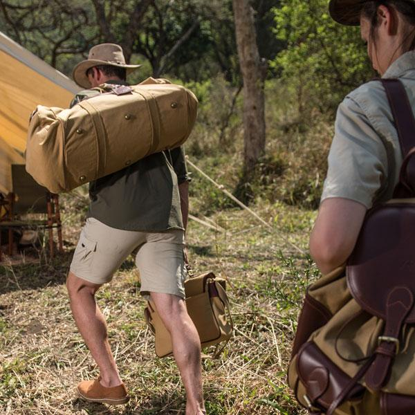 <i>THE</i> ADVENTURE HOLDALL<br>Bestselling Rufiji™ Safari Explorer