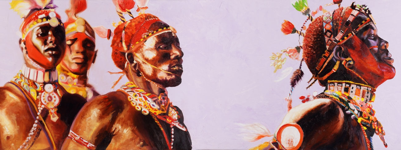 Artist Brent Dodd's work will bring a taste of Africa into your home