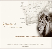 Ingonyama - African Escapes Logo