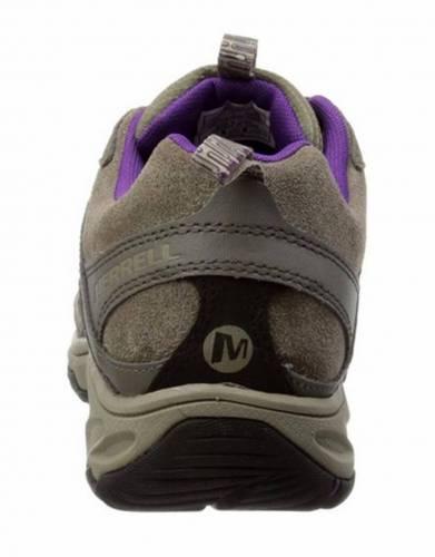Merrell's Women's Daria Trail Shoe in Boulder (Back view)