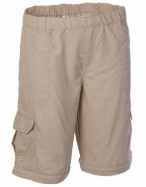 By unzipping the trouser legs, convert these trousers into a pair of comfortable shorts for ease of packing and dressing for the day each morning on safari.