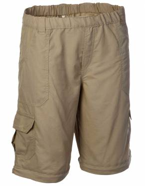 With the trouser legs zipped off, your children will have a lightweight, comfortable pair of trousers in Katavi Khaki for their safari adventures