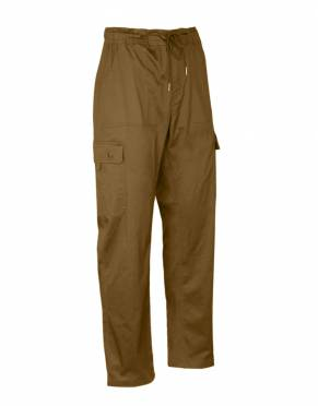Safari tones are a classic addition to any wardrobe. In Kalahari, these cargo trousers are safari-suitable and stylish wherever you wear them