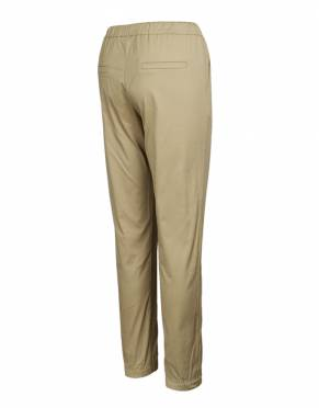 The rear view of the Serengeti Women's Safari Joggers in Savannah. This colour complements the wardrobe of all women - and is appropriate for all elements of your safari too.