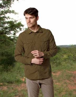 Men's Adventure Anti-Insect Safari Shirt