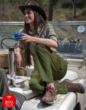 Safari Trousers & Shorts - Women's Rufiji™ BUGTech™ Anti-Insect Zip-Off Safari Trousers