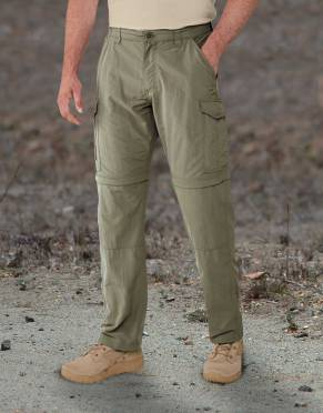 Safari Trousers & Shorts - Men's NosiLife Anti-Insect Zip-Off Safari Trousers