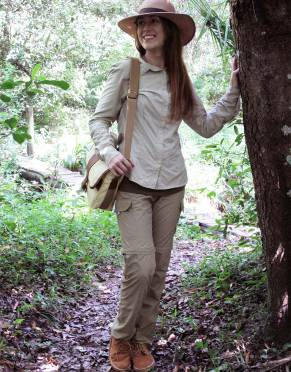 Safari  - Women's Pioneer BUGTech Anti-insect Zip-Off Cargo Outdoor & Safari Trousers