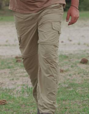 Safari  - Men's Explorer BUGTech Anti-insect Cargo Zip-Off Safari Trousers