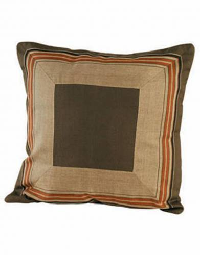 Kikoy Cushion Cover (40x40cm) in Olive