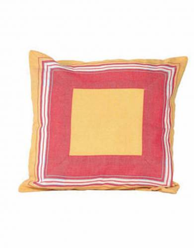 Kikoy Cushion Cover (40x40cm) in Orange