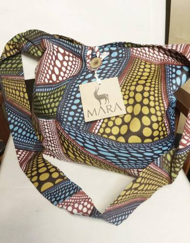 Mara&Meru™ Printed Slouch Shoulder Bag