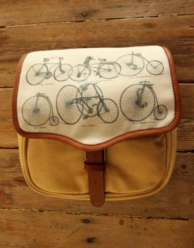 Mara&Meru™ Style-Your-Bag Bicycle Flap for the Mara&Meru™ Selous Outdoor Bag.