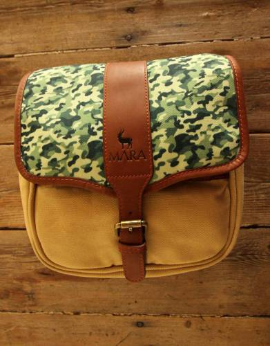 Mara&Meru™ Style-Your-Bag Camouflage Flap for the Mara&Meru™ Selous Outdoor Bag.