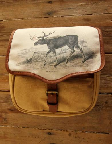 Mara&Meru™ Style-Your-Bag Moose Flap for the Mara&Meru™ Selous Outdoor Bag.