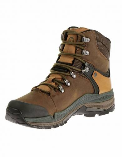 Merrell's Crestbound Boots come in safari-friendly Safari Dorado and Forest Green, making them the ideal walking safari boot.