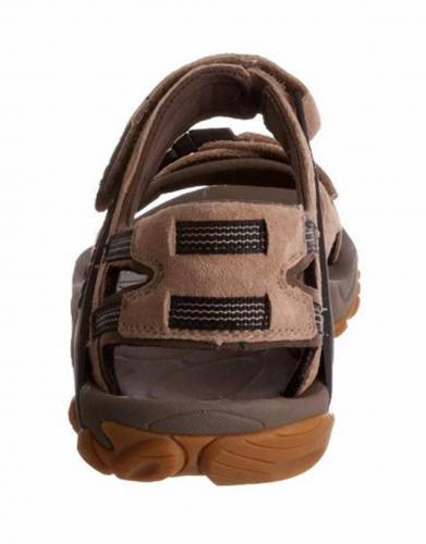 Merrell air cushion in the heel absorbs shock and adds stability