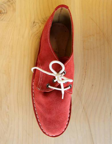 In versatile, eye-catching Namib Red, these shoes are a stylish fit into your travel, outdoor, and everyday wardrobe.