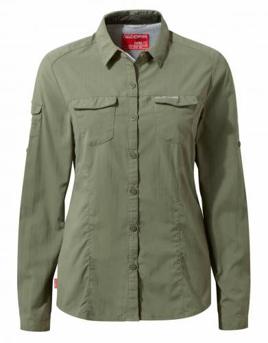 Women's NosiLife Adventure Long-Sleeved Safari Shirt