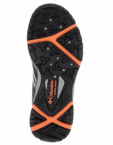 Columbia Women's Safari Trail shoe is Cordovan (Bottom view)