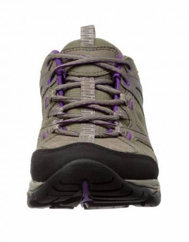 Merrell's Women's Daria Trail Shoe in Boulder (Front view)