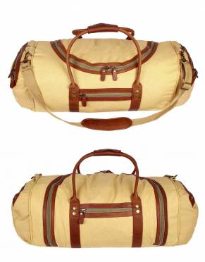 In Safari Tan canvas and leather, add safari style to your travels with this classic colour combination.