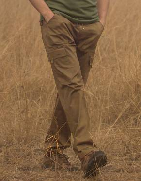 Safari Trousers & Shorts - Men's Savute Safari Cargo Trousers with Stretch