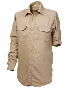 Boys' & Girls' BUGTech™ Insect Repellent Safari Shirt