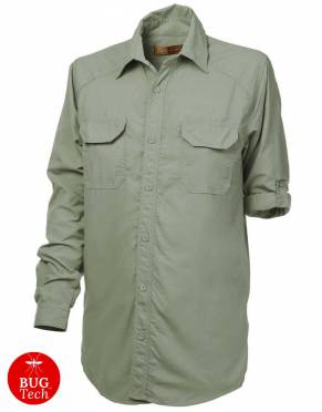 Safari  - Boys' & Girls' BUGTech Anti-Insect Safari Shirt