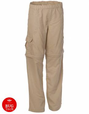 Safari Trousers & Shorts - Boys' & Girls' BUGTech Zip-Off Safari Trousers