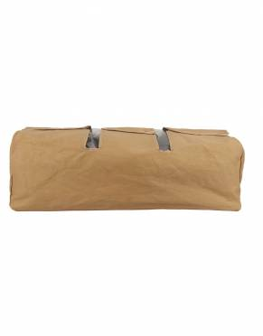 In Khaki Tan, this luggage cover matches the safari styling of your canvas duffle bag and is appropriate for safari and all travels.