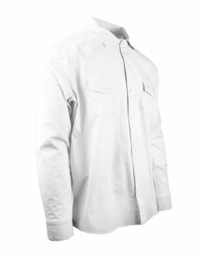 A great white shirt is a staple in any man's wardrobe. While white is not a safari-friendly colour, this is the perfect shirt to wear around the lodge, at dinner, and for travel.