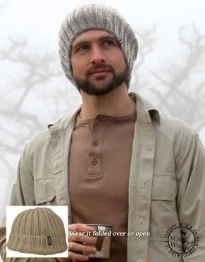 Safari Beanies & Scarves - Thusk™ Zulu Rib Knit Beanie