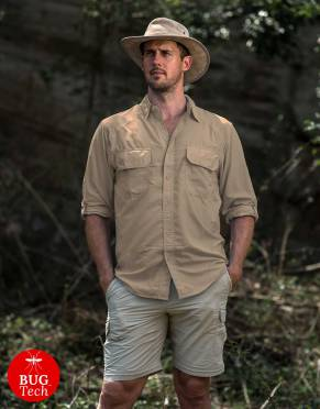 Safari  - Men's Explorer BUGTech Anti-Insect Safari Shirt
