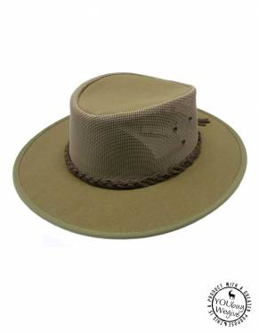 In khaki green, the Explorer Canvas Hat is safari-appropriate for all activities and has long been a safari favourite for concealing dirt from dusty walks and game drives.