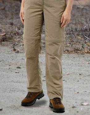 Safari Trousers & Shorts - Women's NosiLife Zip-Off Safari Trousers