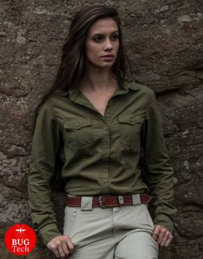 Safari Shirts - Women's Pioneer BUGTech Anti-Insect Safari Shirt
