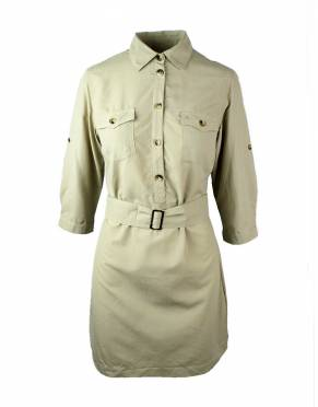 Safari Dresses & Skorts - Women's Safari Shirt Dress