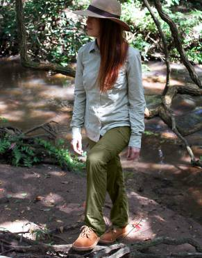 Safari Trousers & Shorts - Women's Pioneer BUGTech Anti-insect Zip-Off Cargo Outdoor & Safari Trousers