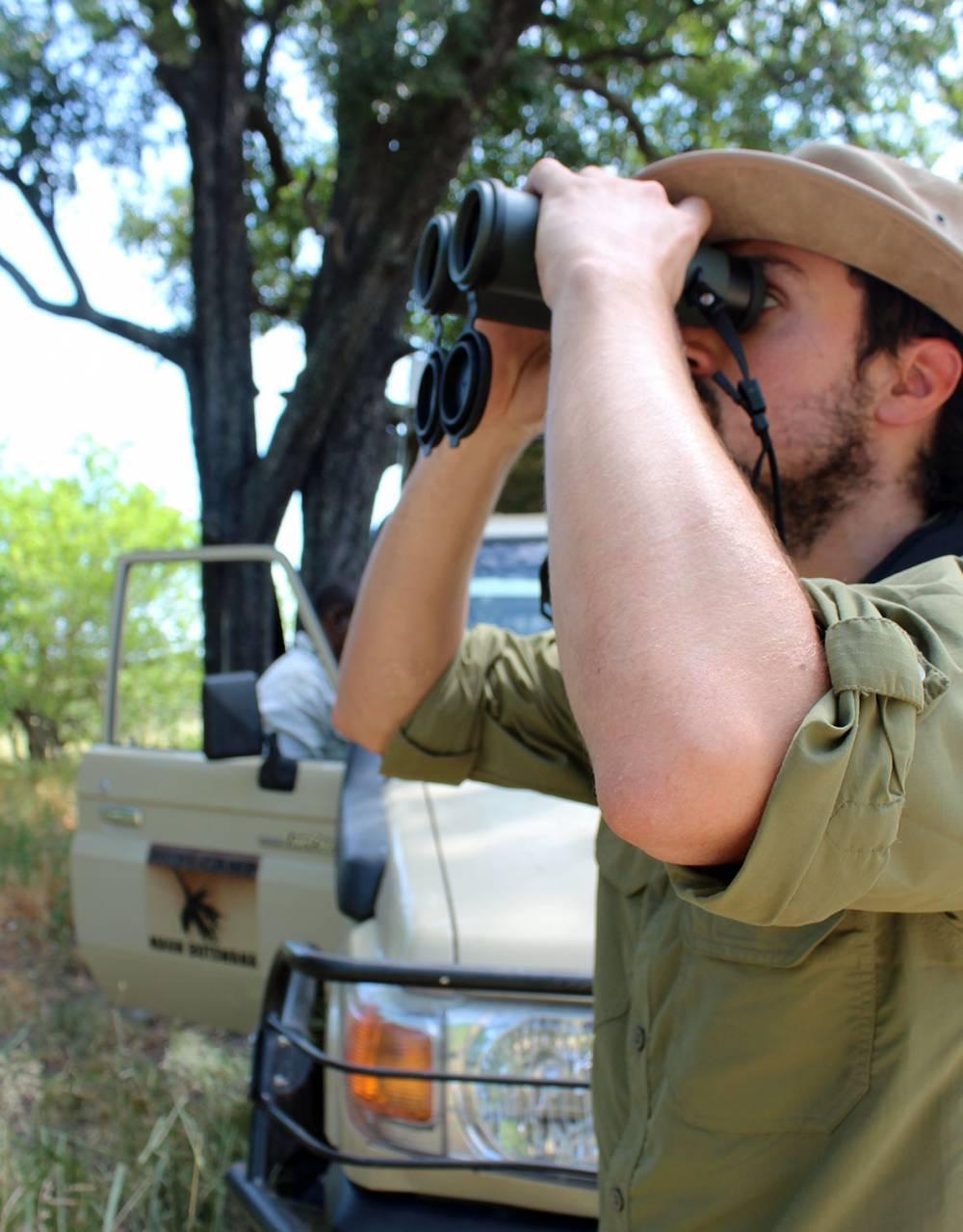 Swarovski binoculars - pack a pair for the Okavango Delta.