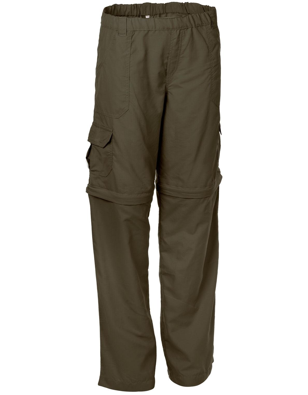 Boys Girls Rufiji Maratech Zip Off Safari Trousers
