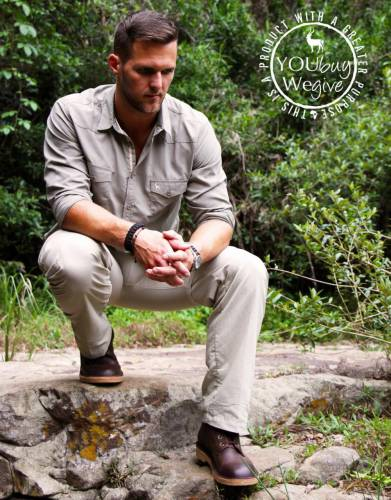 Designed and extensively tested with the anti-poaching unit of Hluhluwe-iMfolozi Game Reserve in South Africa, everyone who saw these boots wanted a pair for themselves. Ruggedly stylish, they are made to wear anywhere