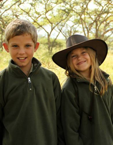 A fleece is a safari essential. Suitable for boys and girls, your children will look the part and enjoy warmth and comfort for uninterrupted safari excitement.
