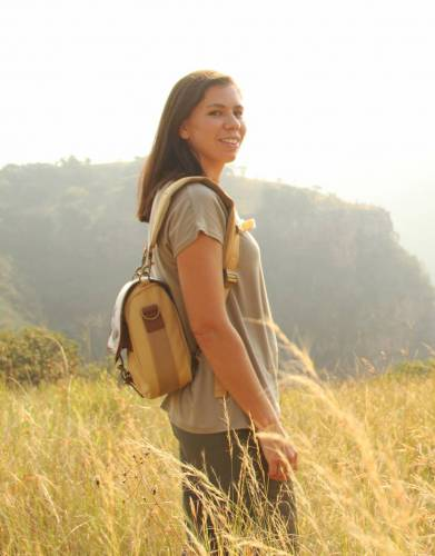 The Selous Bag's backpack straps have been designed for many hours of comfortable wearing