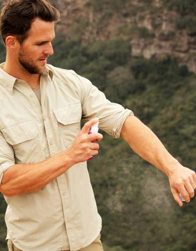 Paired with our BUGTech clothing, RID insect repellent offers all-round protection on safari and for all outdoor sports and hobbies.