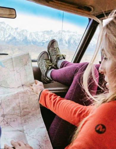 Designed specifically for women who love the outdoors, map your adventures in footsteps with Merrell Safari Walking Shoes.