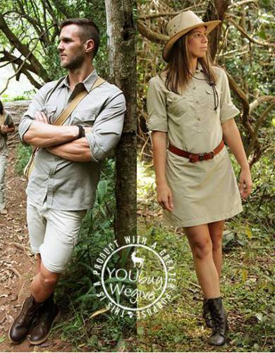 These unisex boots look great on safari and are comfortable for walking and all outdoor pursuits