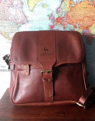 Explore the world with a luxury pannier bag designed for adventure - an extraordinary bag for extraordinary travels.